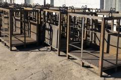 металлические открытые контейнеры