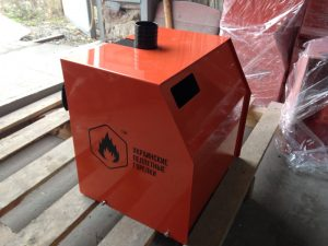 корпус для пеллетной горелки металический